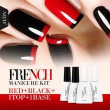 Лазурный Гель-<b>лак</b> для ногтей, УФ-гель для <b>французского</b> ...
