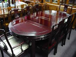rosewood dining set 80x44x31 oval shape dining table 2 asian dining room furniture