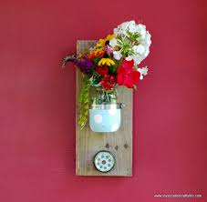 diy mason jar reclaimed wood wall hanging my so called crafty life adore diy hanging mason