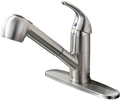 nickel kitchen spray faucet ufaucet best commercial brushed nickel stainless steel single lever si