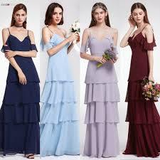 <b>Bridesmaid Dresses Ever Pretty</b> V neck Ruffles Adjustable Spaghetti ...