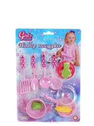 """<b>Набор</b> """"Посудка"""" блистер 27,5*40 см. GIRL'S CLUB 9664429 в ..."""