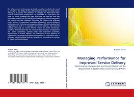 search results for impact on service delivery bookcover of managing performance for improved service delivery