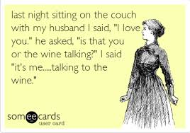 """last night sitting on the couch with my husband I said, """"I love ... via Relatably.com"""