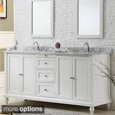 dual vanity bathroom: vanity sink  inch classic pearl white double vanity sink cabinet