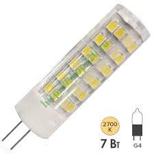 Купить <b>Лампа</b> светодиодная <b>ЭРА LED JC</b>-<b>7W</b>-<b>220V</b>-<b>CER</b>-827-<b>G4</b> ...