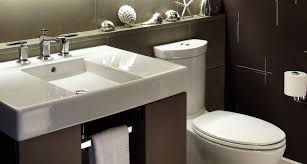 ideas bathroom sinks designer kohler: kohler warm modern powder room kohler bathroom gallery