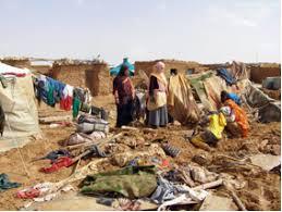 Resultado de imagen de desde cuando campo refugiados sahara