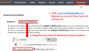 add references reference management tools guides tutorials similar steps can also be performed by the capture button in endnote s firefox extension you learn more in guides for endnote web