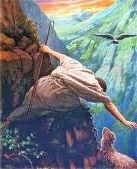 Hasil gambar untuk gambar Yesus sebagai gembala di padang rumput