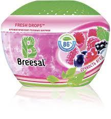 <b>Ароматические гелевые шарики BREESAL</b> Сочность ягод, 215 г ...