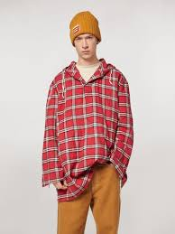 <b>Cotton Flannel</b> Shirt With Hood from the Marni <b>Spring</b>/Summer 2020 ...