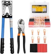 Amazon.com: Sanuke <b>HX</b>-<b>50B</b> Battery Crimping Tool, 72Pcs AWG 8 ...