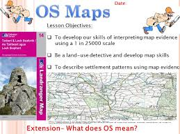 KS  Geography Mapwork and Settlements     OS Maps by GJDavis