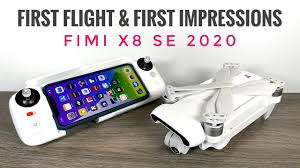 <b>Fimi X8 SE 2020</b> First Flight and First Impressions - YouTube