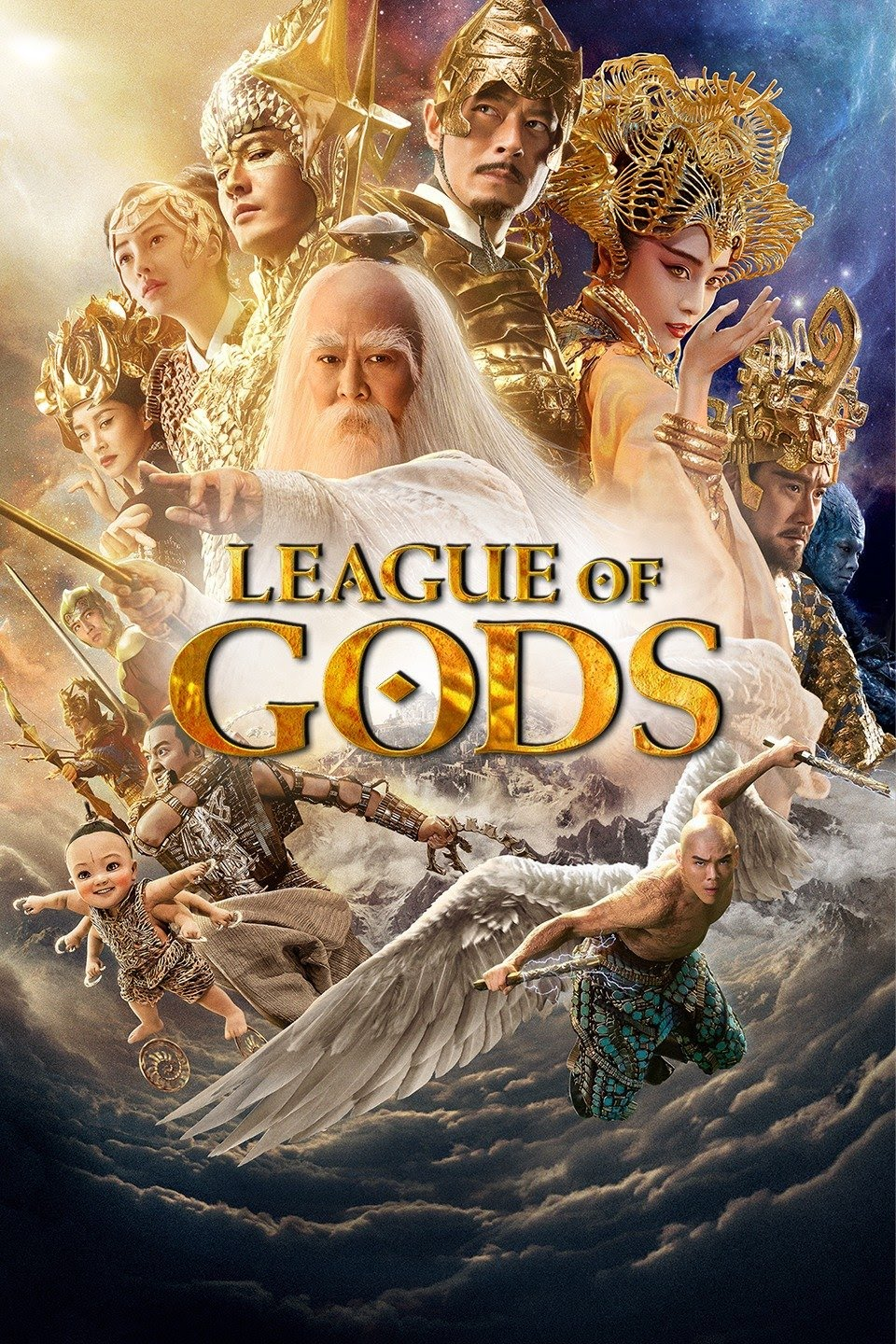 Download League of Gods (2016) Dual Audio (Hindi-English) 480p | 720p
