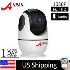 <b>ANRAN</b> Smart Security Home Camera Wifi <b>1080P HD</b> CCTV <b>PT</b> ...