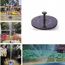 FidgetGear <b>Solar Fountain</b>, <b>Mini Solar</b> Floating <b>Water Fountain</b> ...
