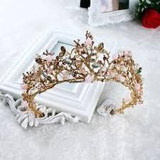 2017 <b>Nieuwe</b> Vintage Crystal Wedding Crown Tiara Strass Koper ...