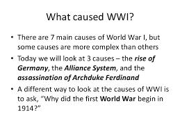 main causes of ww essay   homework for you     main causes of ww essay   image