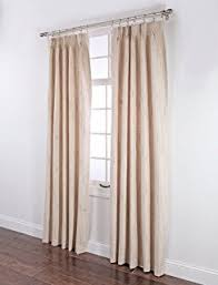 insulated pinch pleat drapery curtain pair stylemaster tucson thermal insulate pinch pleat drapes  by  inch beige