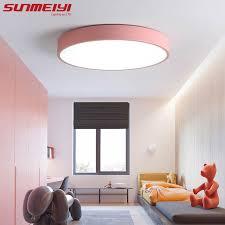 <b>Nordic Round</b> LED Acrylic <b>Ceiling Lights</b> creative Macarons ...