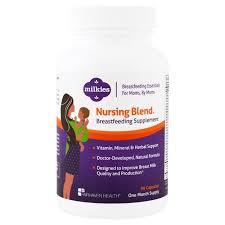 <b>Milkies</b>, <b>Nursing Blend Breastfeeding</b> Supplement, 90 Veggie Caps