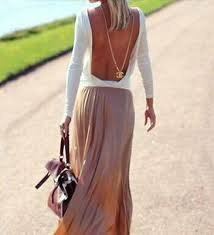 Details about <b>Sexy Backless Summer Fashion</b> Women Casual Long ...