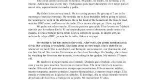essay my family