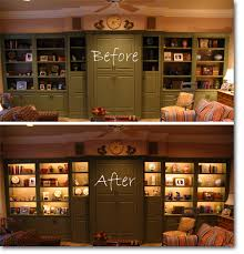 these fixtures can also be set up in other rooms and are perfect for bookcases closets cabinet lighting custom