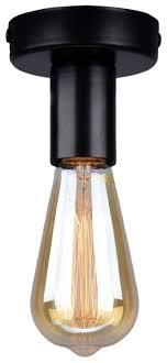 Купить <b>Светильник</b> РОССвет Эдиссон РС20805 BK/1C, E27, 60 ...