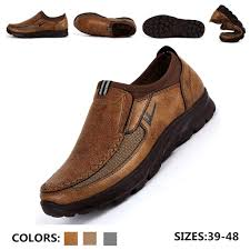 Fashion <b>Men</b>'s Winter <b>Leather Casual</b> Shoes <b>Breathable</b> Antiskid ...