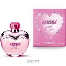 <b>Туалетная</b> вода <b>Moschino Pink Bouquet</b> EDT, цены в Москве ...