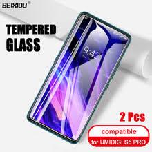 2 шт <b>Полное закаленное стекло для</b> UMIDIGI S5 PRO защита ...