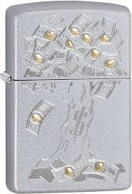 <b>Зажигалка бензиновая</b> Zippo <b>Money Tree</b> Design, 29999, с ...