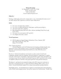 internship objective resume examples engineering intern resume objective statement for engineering resume