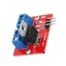 <b>0</b>-<b>24v top mosfet</b> button <b>irf520</b> mos driver module for arduino mcu ...