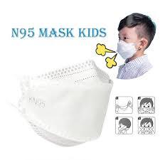 <b>N95</b>/<b>KN95</b>/FFP2 Mask Protection <b>Kids</b>, <b>Children's</b> Dust Mask ...