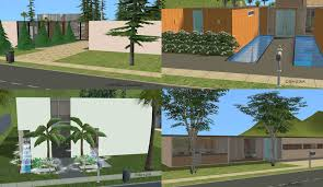 Mod The Sims   Case Study House    Redux  modern base game no CC     Scientific Research Publishing