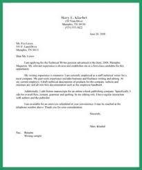Technical Writer Cover Letter Example  Pinterest