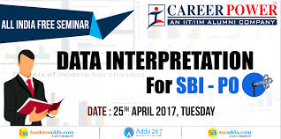 gk syllabus tips and books for all bank exams sbi clerk nabard all seminar on data interpretation sbi po 2017 special on 25th 2017 register