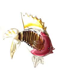 <b>Фигурка</b> Рыбка вуалехвост 28х23см <b>Art Glass</b> 12340844 в ...