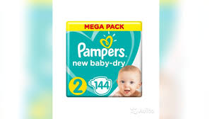 <b>Pampers подгузники New Baby Dry</b> 2 (4-8 кг) 144 шт купить в ...