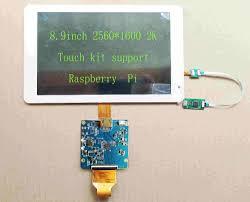 <b>8.9</b>inch <b>2K</b> HDMI <b>IPS Display</b> 2560*1600 MIPI LCD With Driver ...