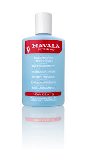 BLUE <b>NAIL POLISH REMOVER</b> | <b>Mavala</b> Switzerland