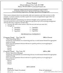 free  top professional resume templatesoperation manager template thumb operation manager template