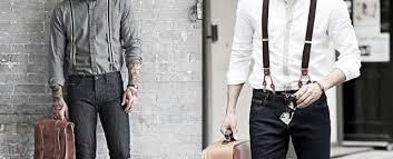 How To Wear <b>Suspenders</b> With Jeans For Men - 30 <b>Male Fashion</b> ...