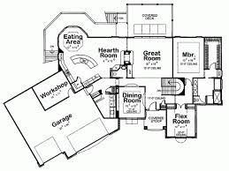 Eplans European House Plan   Flexible One Level Plan   Square    Level