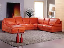 polaris orange leather sofa leather sectionals american leather with regard to burnt orange sectional sofa the burnt orange furniture