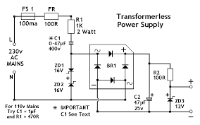 power supply page    power supply circuits    next grlow voltage power supply without transformer